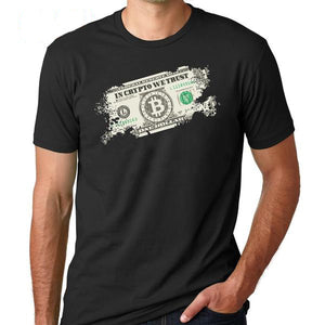 Tee Crypto Bitcoin T- Shirts - Bitcoin Merch Outlet