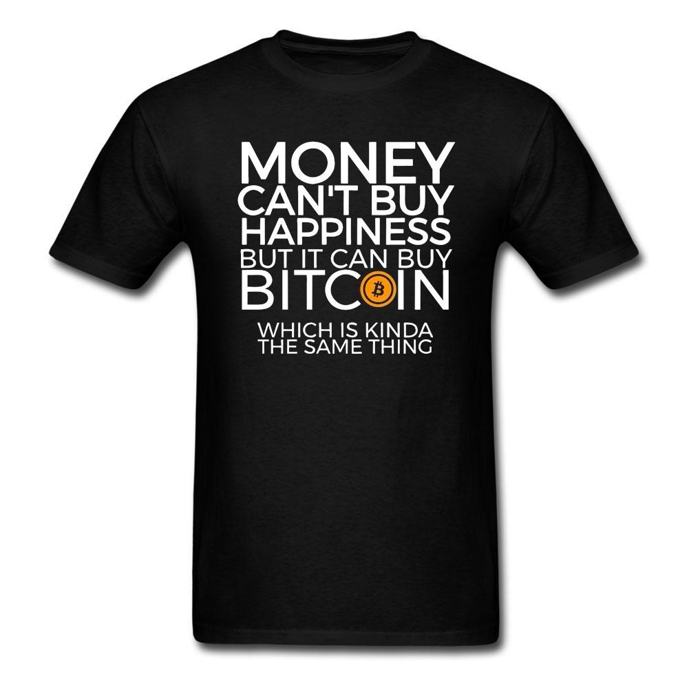 Money Happiness  Bitcoin Tee T- Shirts - Bitcoin Merch Outlet