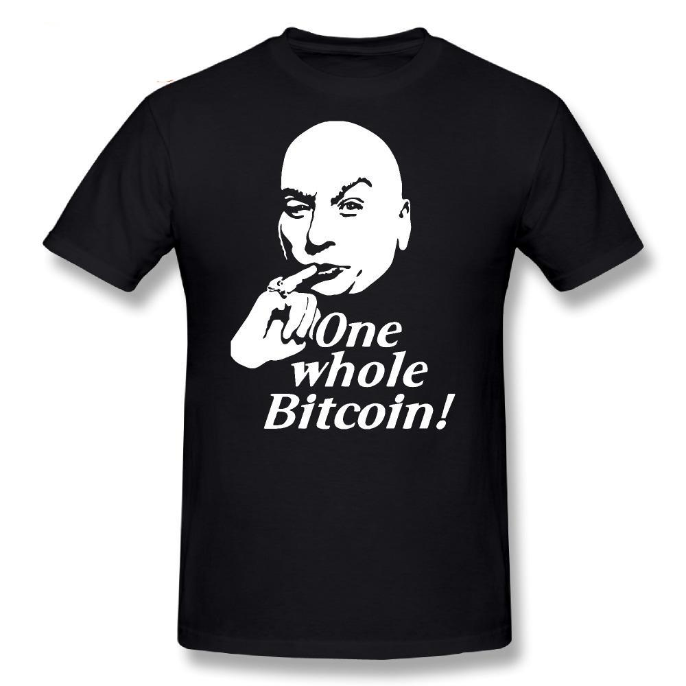 One Whole Bitcoin Austin Powers T-Shirt - Bitcoin Merch Outlet