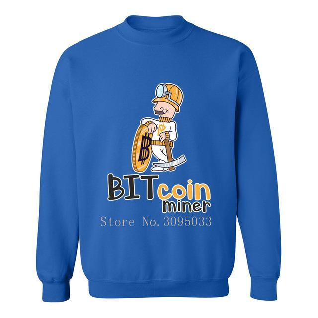 Bitcoin Miner Sweat T-Shirt - Bitcoin Merch Outlet