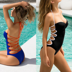 2018 One-Piece Swimsuit