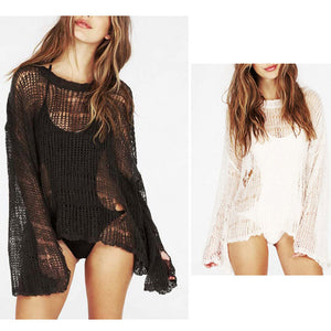 Swimwear Crotchet Hollow Beach Wear Cover Up