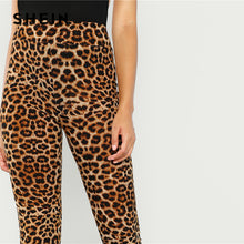 High Street Leopard Print Long Leggings