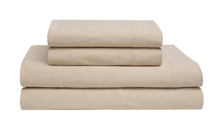 Jersey Knit Cotton Sheet Sets