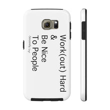 Load image into Gallery viewer, Work(Hard)- Case Mate Tough Phone Cases