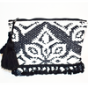 Syros Kourelou Bag - Black & White
