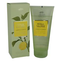 4711 Acqua Colonia Lemon & Ginger Shower Gel By Maurer & Wirtz