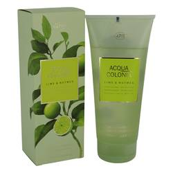 4711 Acqua Colonia Lime & Nutmeg Shower Gel By Maurer & Wirtz