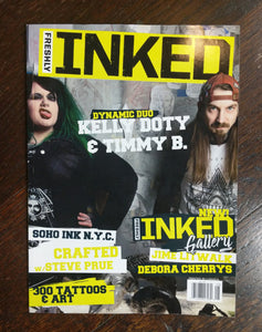 Freshly Inked Magazine - SohoInk Clothing Merchandise