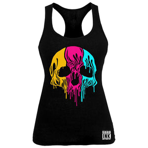 Melted Skull Tank - SohoInk Clothing Merchandise