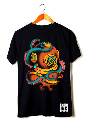 Octo Diver - SohoInk Clothing Merchandise