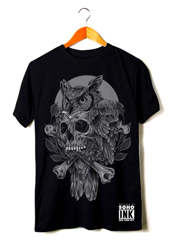 Owl - SohoInk Clothing Merchandise