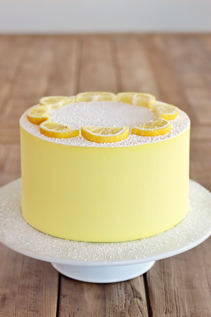 Lemon Bar Cake