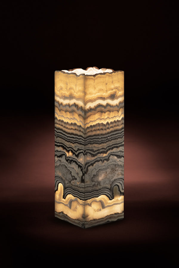 Strata Cube Table Lamp