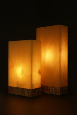Miel Rectangular Table Lamps (Pair)