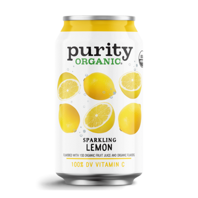 Sparkling Water - Lemon (Case of 24 cans)
