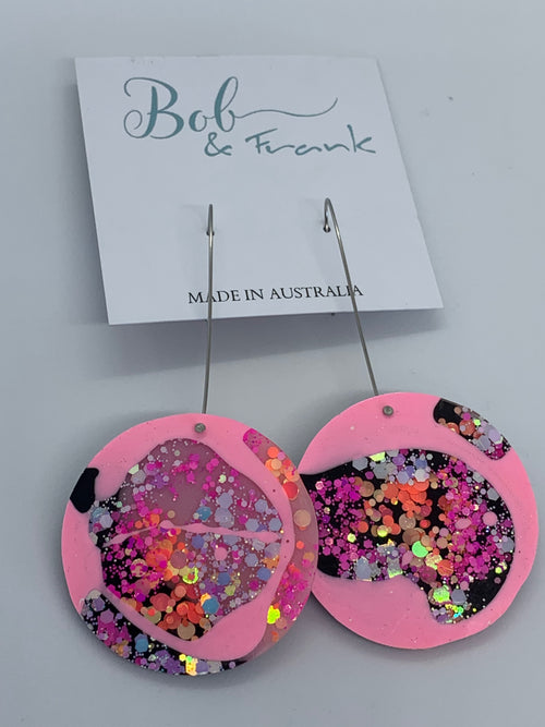 45mm Disk Earrings by Bob & Frank