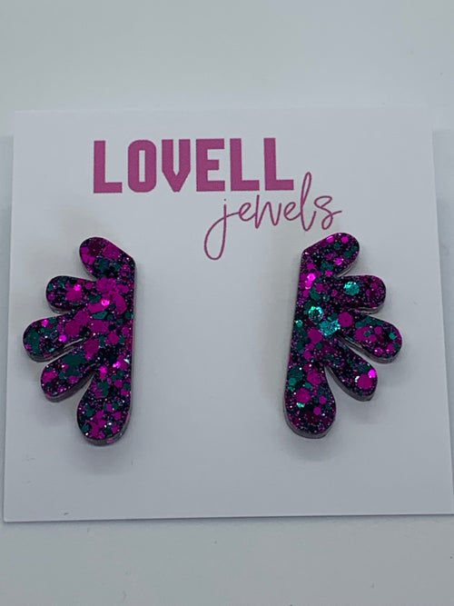 Flora Stud Earrings by Lovell Jewels (variant 1)