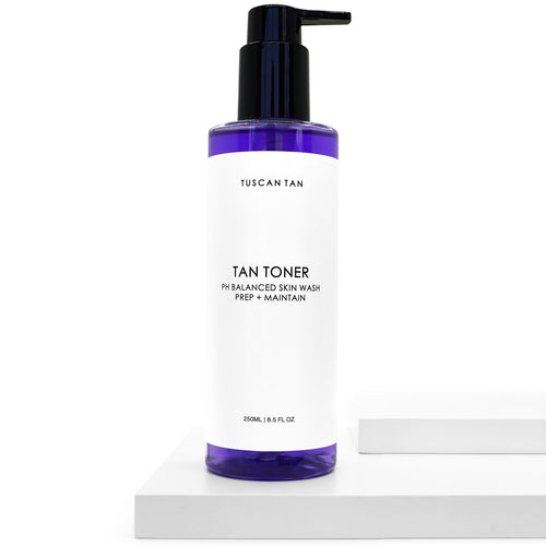 Tuscan Tan TAN TONER PH Balanced Skin Wash Prep + Maintain | Polished By Makala Beauty | Mount Gambier