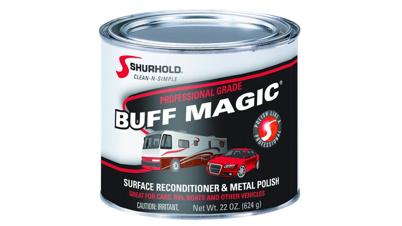 Buffing Compound Gives Tires and Chrome Luster - Shurhold