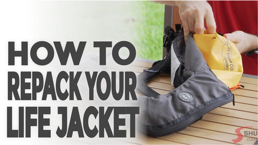 Learn How to Repack Your Inflatable Life Jackets!