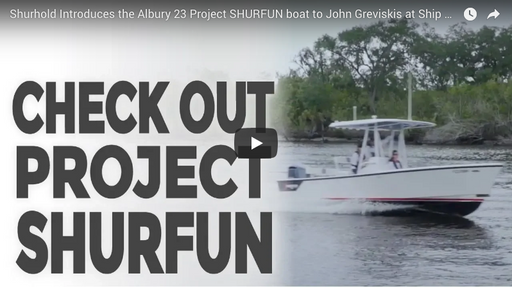 Ship Shape TV stops by to check out Project SHURFUN!