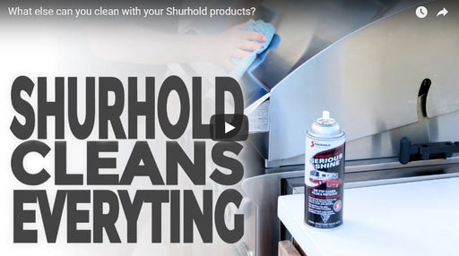 Household use of Shurhold Chemicals