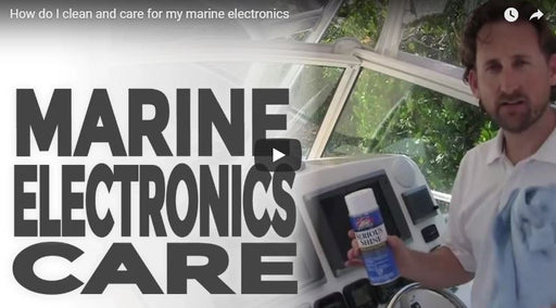 How Do I clean Electronics on my Boat?