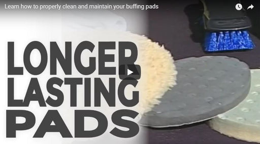 Proper Care and Cleaning of Buffing Pads