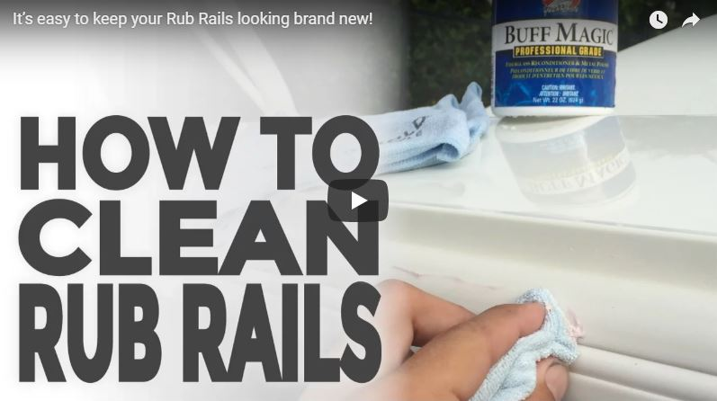 Here's a few Tips and Tricks for Rub Rail Care - Shurhold Industries