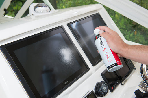 Spray, Wipe and Touchscreens are Completely Clean