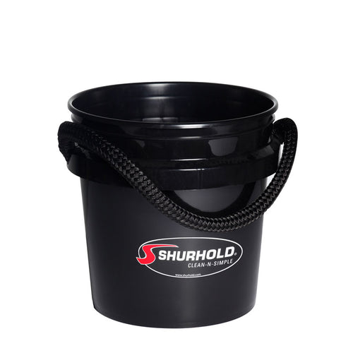 SKU #2432 Shurhold Black 3.5 gallon Bucket