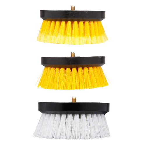 Shurhold Assorted Dual Action Polisher Scrub Brushes