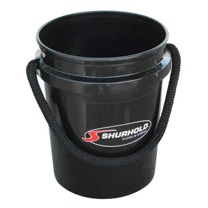 SKU #2452 Shurhold Black 5 gallon Bucket
