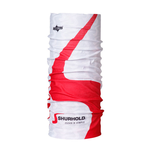 SKU #SGHOO-WHT Shurhold White and Red Bandana