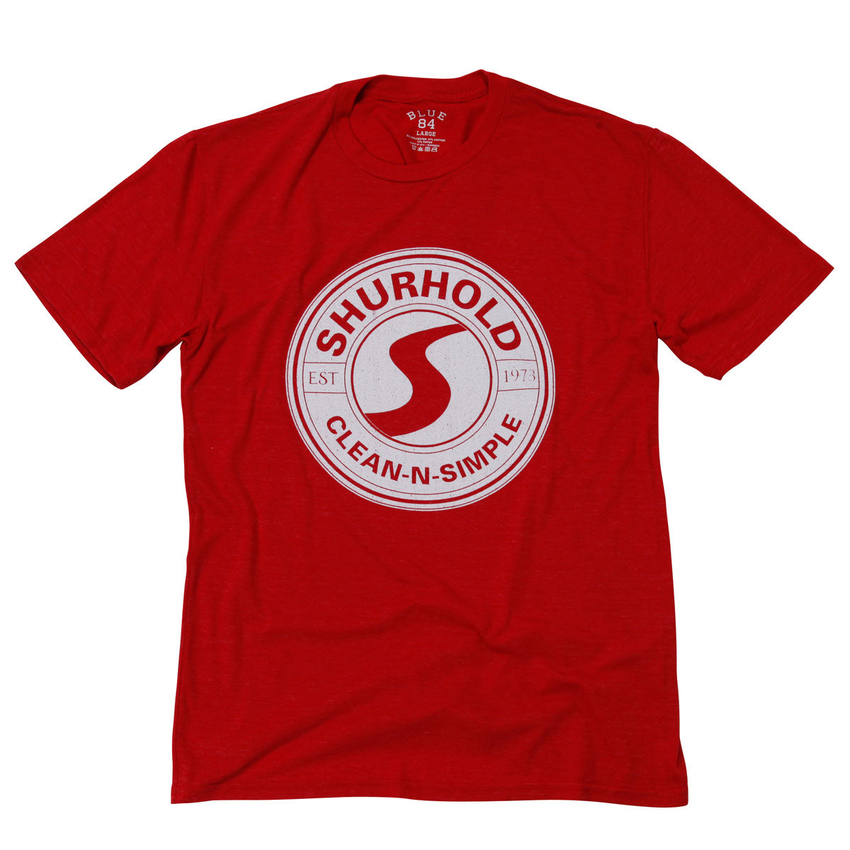 Shurhold Red Retro Tee