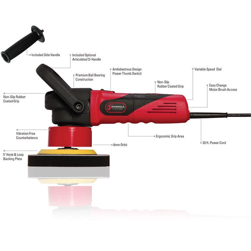 SKU #3100 Shurhold Dual Action Polisher Schematic