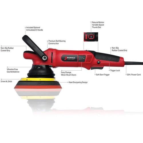 SKU #3500 Shurhold Dual Action Polisher Pro Schematic