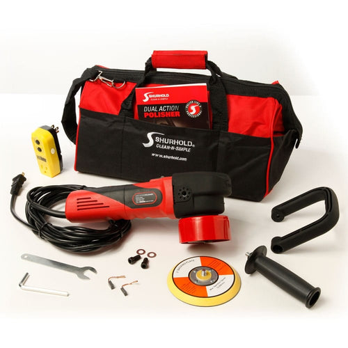 SKU #3100 Shurhold Dual Action Polisher with Accessories