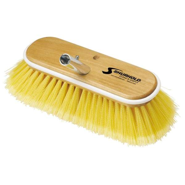 SKU #980 Shurhold 10in Soft Yellow Deck Brush
