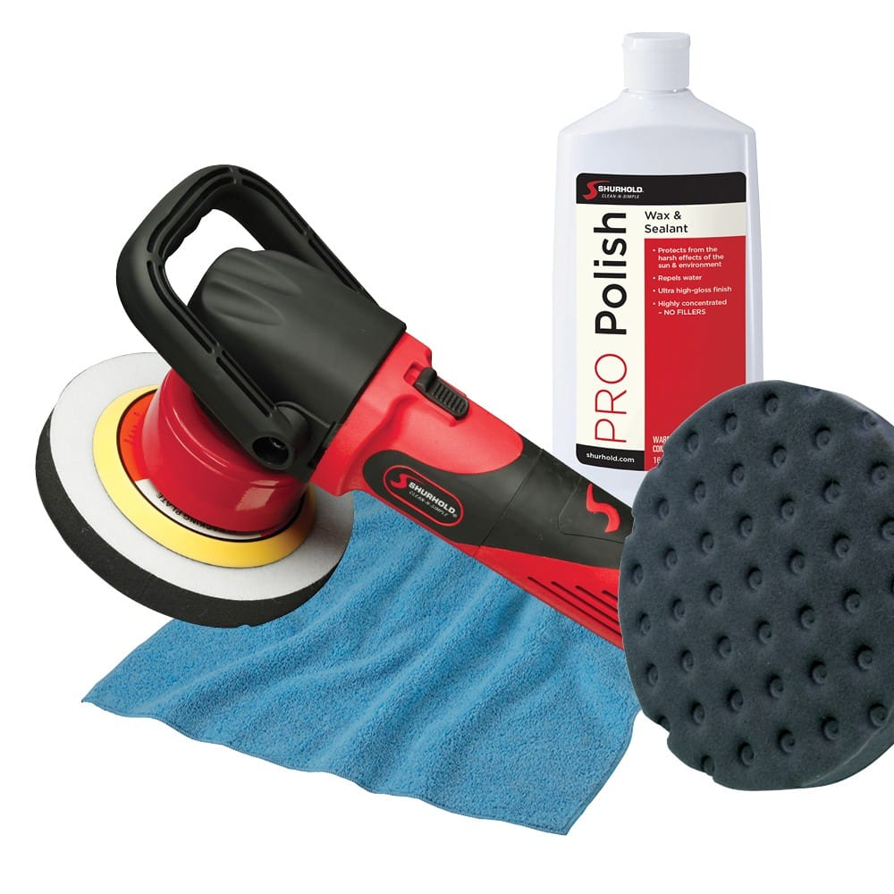 SKU #3101 Shurhold Dual Action Polisher with Bonus Pack