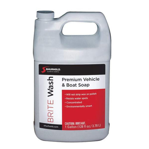 SKU #YBP-0302 Shurhold Brite Wash 1 gallon