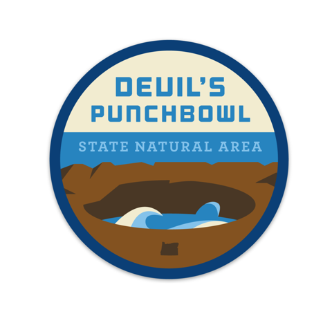 Devil's Punchbowl State Natural Area Sticker