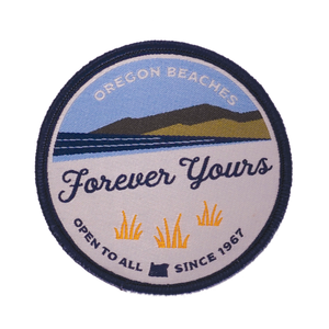 """Forever Yours"" Oregon Beach Bill Patch"