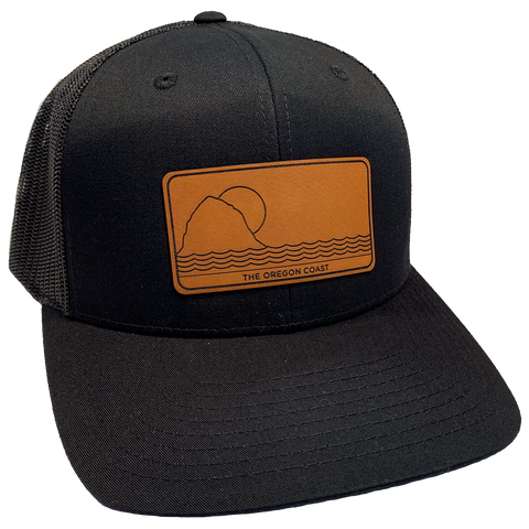 North Coast Trucker Hat- Black