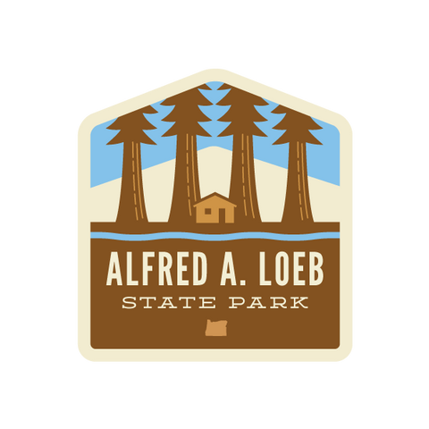 Alfred A. Loeb State Park Sticker