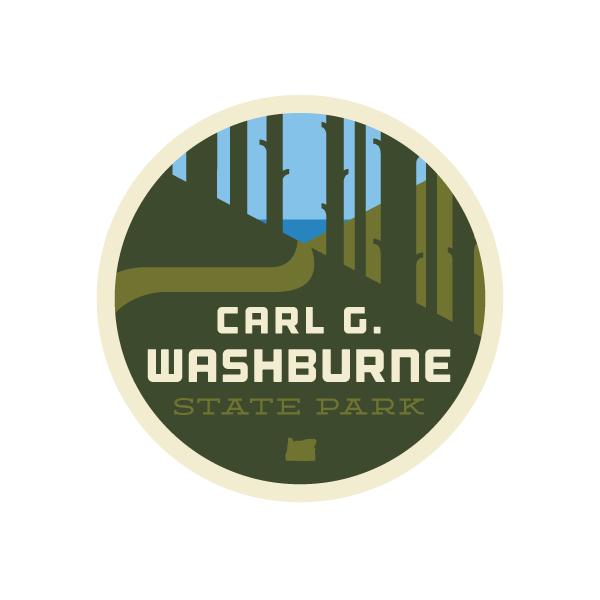 Carl G. Washburn State Park Sticker
