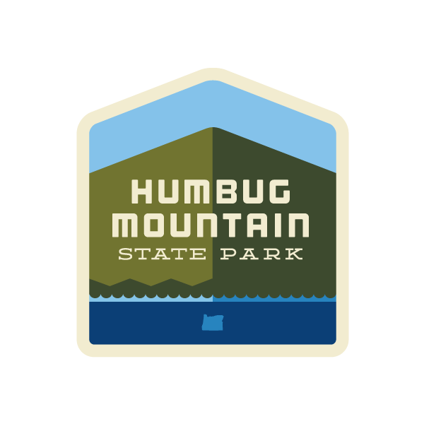 Humbug Mountain State Park Sticker