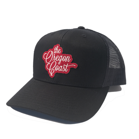 The Oregon Coast Trucker Hat (Navy)