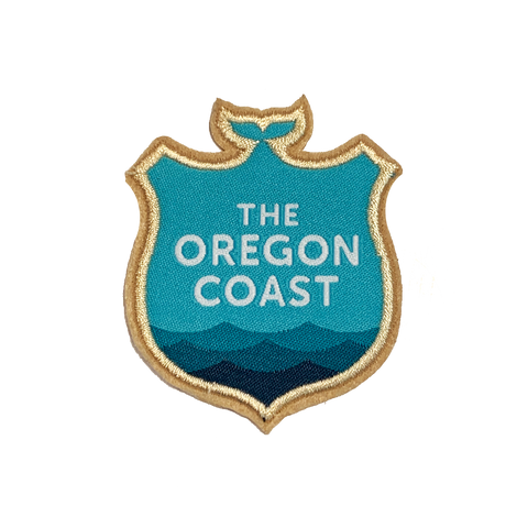 Official Oregon Coast Logo Iron-on Patch